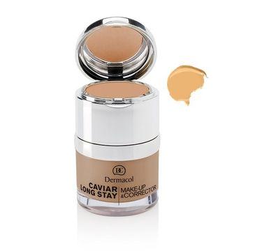 Dermacol – Caviar Long Stay Make-Up & Corrector podkład do twarzy z korektorem 1.5 Sand (30 ml)