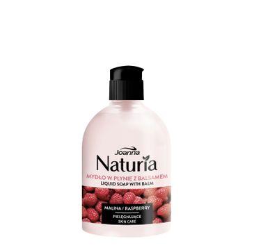 Joanna – Naturia Mydło pielęgnujące z balsamem w płynie Malina flip-top (500 ml)