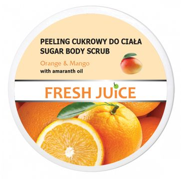 Fresh Juice – Peeling cukrowy do ciała Orange & Mango(225 ml)