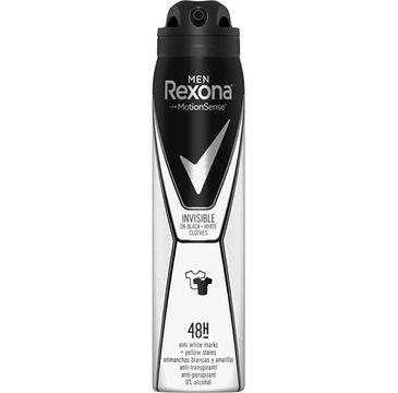 Rexona Men Invisible Black + White Anti-Perspirant 48h antyperspirant spray 250ml