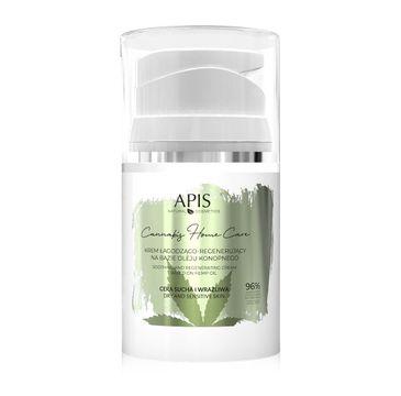 Apis – Krem łagodząco - regenerujący na bazie oleju konopnego do twarzy (50 ml)