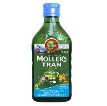 Möller's – Tran Norweski suplement diety Owocowy (250 ml)