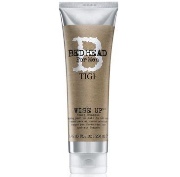 Tigi – Bed Head For Men Wise Up Scalp Shampoo oczyszczający szampon dla mężczyzn (250 ml)