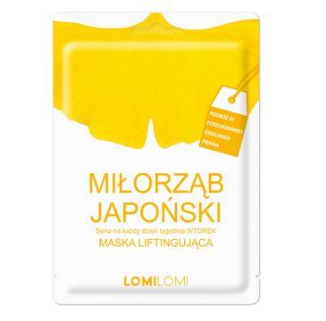 Lomi Lomi – Seria Na Każdy Dzień Tygodnia maska liftingująca na wtorek Miłorząb Japoński (26 ml)