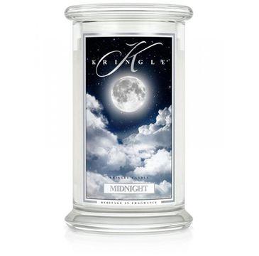 Kringle Candle – świeca zapachowa z dwoma knotami Midnight (623 g)