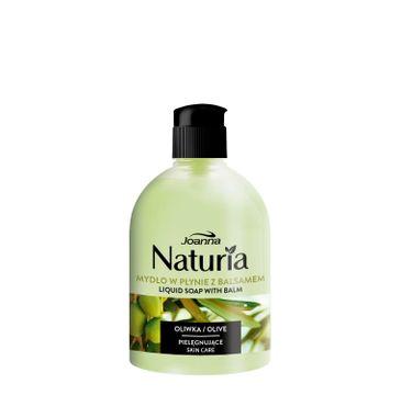 Joanna – Naturia Mydło pielęgnujące z balsamem w płynie OLIWKA flip-top (500 ml)