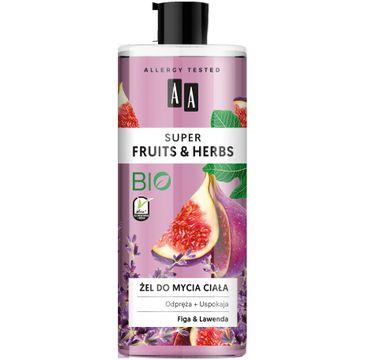 AA Fruits & Herbs – żel do mycia ciała figa&lawenda (500 ml)
