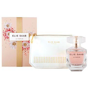 Elie Saab Le Parfum – zestaw woda perfumowana spray (50 ml) + kosmetyczka (1 szt.)