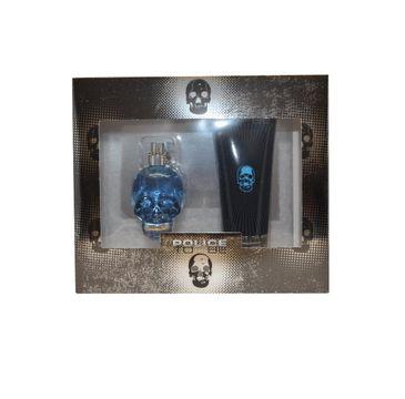 Police To Be Man zestaw woda toaletowa spray 40ml + żel pod prysznic 100ml
