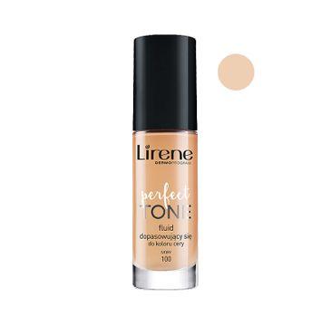 Lirene Perfect Tone – fluid dopasowujący się do koloru cery 100 Ivory (30 ml)