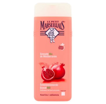 Le Petit Marseillais – żel pod prysznic Śródziemnomorski Granat BIO (400 ml)