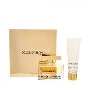 Dolce&Gabbana The One Woman – zestaw woda perfumowana spray (75 ml) + balsam do ciała (100 ml)