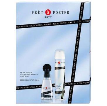 Pret A Porter – zestaw prezentowy Original woda toaletowa (50 ml) + dezodorant (200 ml)