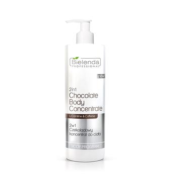 Bielenda Professional Body Program 2in1 Chocolate Body Concentrate czekoladowy koncentrat do ciała (450 ml)