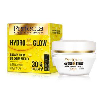 Perfecta – Hydro Glow Krem nawilżający do cery suchej (50 ml)