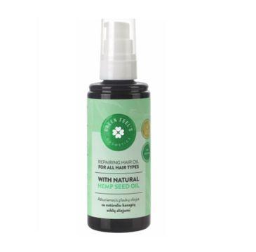 Green Feel's – Repairing Hair Oil regenerujący olejek do włosów z ekstraktem z oleju konopnego (200 ml)