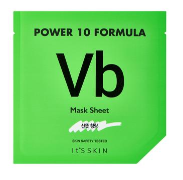 It's Skin – Power 10 Formula Mask Sheet VB maska w płachcie regulująca produkcję sebum (25 ml)