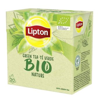 Lipton Bio Green Tea herbata zielona 20 piramidek