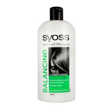 Syoss odżywka do włosów (Balancing 500 ml)