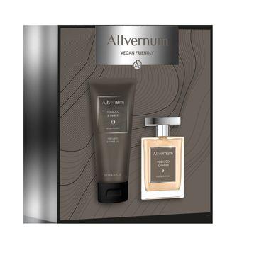 Allvernum – Men Zestaw prezentowy Tobacco & Amber woda perfumowana 100ml+żel pod prysznic 200ml (1 szt.)