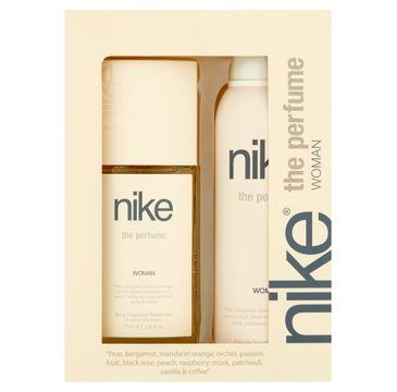 Nike – Zestaw prezentowy The Perfume for woman dezodorant w szkle 75 ml+dezodorant spray 200 ml (1 szt.)