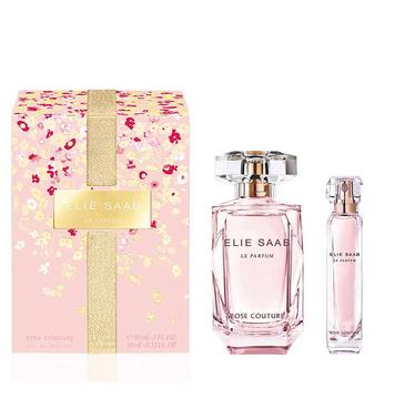 Elie Saab Le Parfum Rose Couture (zestaw woda toaletowa spray 90 ml + miniatura wody toaletowej spray 10 ml)