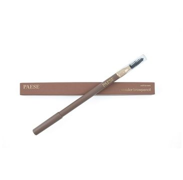 Paese Powder Brow Pencil – pudrowa kredka do brwi Soft Brown (1.19 g)
