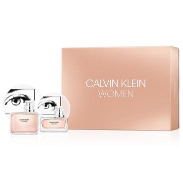Calvin Klein Women (zestaw woda perfumowana spray 100 ml + woda perfumowana 30 ml)