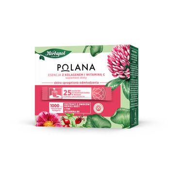 Polana – Esencja z kolagenem i witaminą C suplement diety (25 saszetek)