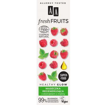 AA – Fresh Fruits maseczka regenerująca z ekstraktem z malin (40 ml)
