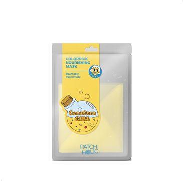 Patch Holic – Żółta odżywcza maska w płachcie  Colorpick Nourishing Mask (20 ml)