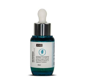 KNH – Seaweed Aqua Ampoule Serum nawilżające serum z ekstraktem z wodorostów (25 ml)