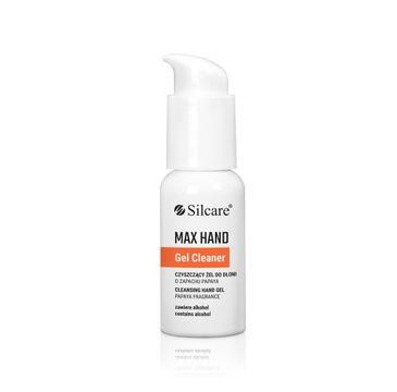 Silcare – Max Hand Gel Cleaner oczyszczający żel do dłoni Papaya (50 ml)