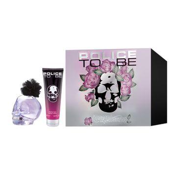 Police To Be Rose Blossom – zestaw woda perfumowana spray (75 ml) + balsam do ciała (100 ml)