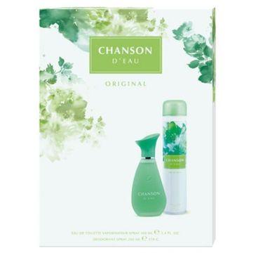Chanson D'Eau – zestaw prezentowy Original woda toaletowa (100 ml) + dezodorant spray (200 ml)