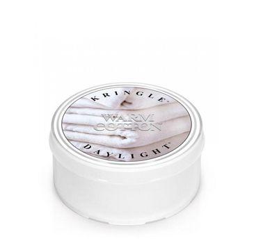 Kringle Candle Daylight – świeczka zapachowa Warm Cotton (35 g)