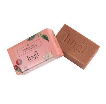 Hagi Cosmetics Naturalne mydło z czerwoną glinką (100 g)