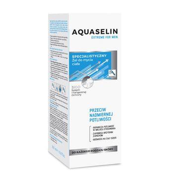 Aquaselin – Extreme For Men specjalistyczny żel do mycia ciała (200 ml)