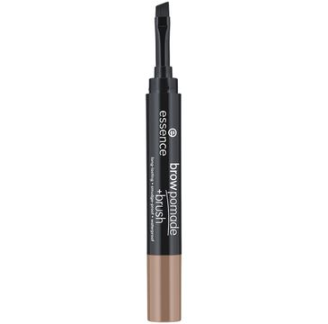 Essence – Brow Pomade + Brush pomada do brwi z pędzelkiem 01 Blonde (1.2 g)
