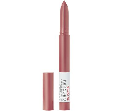 Maybelline Super Stay Ink Crayon – szminka w sztyfcie 25 Stay Exceptional (2 g)