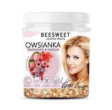 Beesweet – Owsianka Truskawka & Wanilia (60 g)