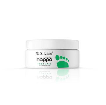 Silcare Nappa – maska do stóp z kwasami AHA (250 g)