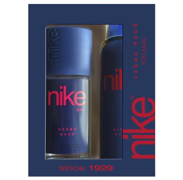 Nike – Zestaw prezentowy Urban Wood for man dezodorant w szkle 75ml+dezodorant spray 200ml (1 szt.)