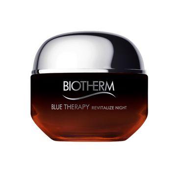 Biotherm Blue Therapy Amber Algae Revitalize rewitalizujący krem na noc 50ml