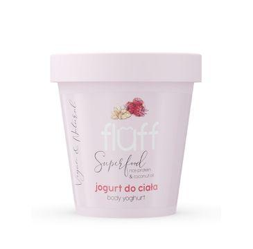 Fluff Body Yoghurt – jogurt do ciała Maliny z Migdałami (180 ml)