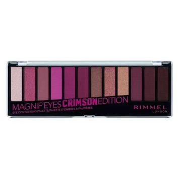 Rimmel Magnif'Eyes Eyeshadow Palette paleta cieni 007 Crimson Edition 14.16g
