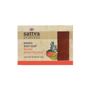 Sattva Body Soap indyjskie mydło glicerynowe Mango 125g