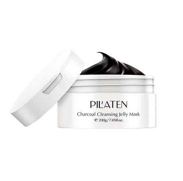 Pilaten – Oczyszczająca żelowa maska z węglem drzewnym Charcoal Cleansing Jelly Mask (200 g)