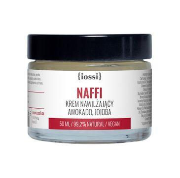 iossi Naffi krem nawilżający do twarzy z olejem awokado i jojoba (50 ml)