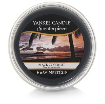 Yankee Candle – Scenterpiece Easy Melt Cup wosk do elektrycznego kominka Black Coconut (61 g)